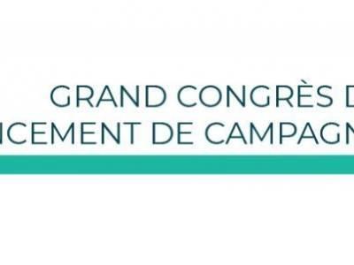 Notre grand congrès  se tiendra le 22 avril