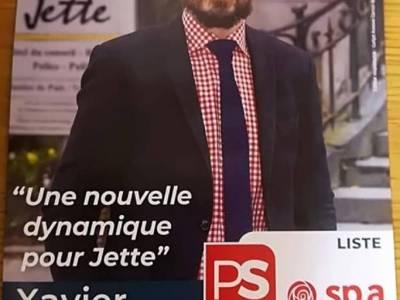 Xavier Van Cauter tête de liste du PS jettois